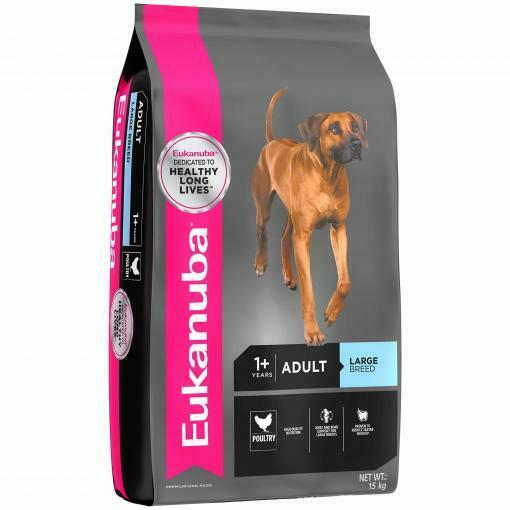 NEW Eukanuba Completely Nutrition Chicken Adult Large Breed Dry Dog Food 15kg