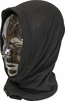 BLACK MILITARY STYLE REAL THERMOLITE THERMAL ARMY HEADOVER/BALACLAVA/HAT  SAS SF