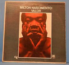 MILTON NASCIMENTO VALOR COURAGE AML/S1031 VINYL LP '69 MEXICO ORIG PRESS VG/VG!!