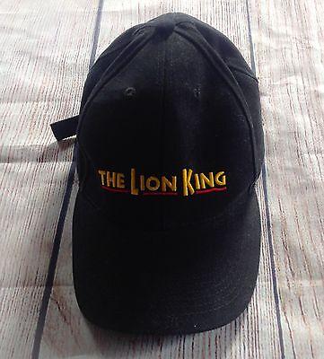 27f595695 Disneys THE LION KING Broadway Black Baseball Hat Cap Adjustable VIP SIMBA  NALA | eBay