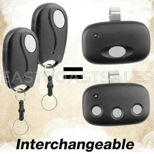 2 Garage Door Remote Mini Key Chain for ACT-31B Linear MegaCode MCT-3 MCT-11