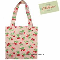 Cath Kidston Tote Bag - 100 % Cotton - Strawberry (pink) 100% Authentic