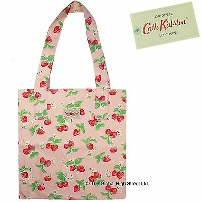Cath Kidston Tote Bag - 100 % cotton - Strawberry (pink) 100% authentic *BNWT*