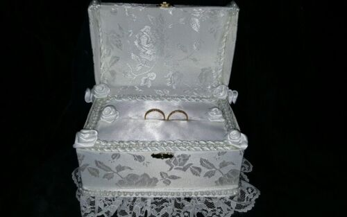 Wedding ring bear boy pillow chest I can add your wedding colors