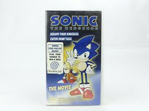 Sonic-the-Hedgehog-The-Movie-VHS-1999-in-Case-w-Original-Poster