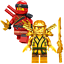 Lego-Ninjago-Minifiguren-Sets-Zane-Cole-Nya-Kai-Jay-GOLDEN-DRAGON-LLOYD-Minifigs Indexbild 18