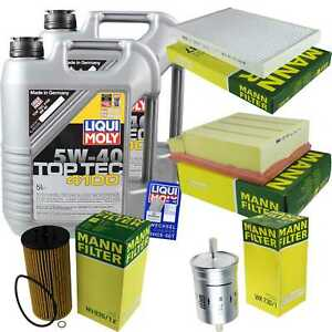 Inspection-Kit-Filter-LIQUI-MOLY-Oil-Oil-10L-5W-40-for-Audi-A4-Cabriolet-8H7