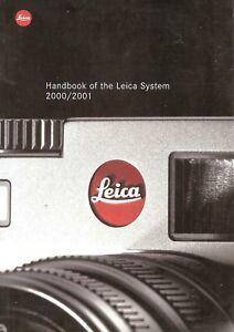 2000-2001-LEICA-CAMERA-SYSTEM-HANDBOOK-CATALOG-BROCHURE-S1-M6-R8-R6-2-TRINOVID