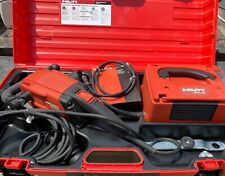 Hilti Dg150 Concrete Handheld Grinder With Dpc 20 Power Supply New