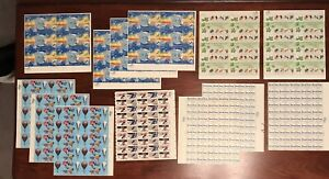 $105 US Postage, Full Nice Sheets, MNH, 13 to 20 cent stamps