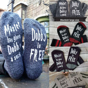 Women-Mens-Comfortable-Master-Has-Given-Dobby-A-Sock-Dobby-Is-Free-Casual-Socks