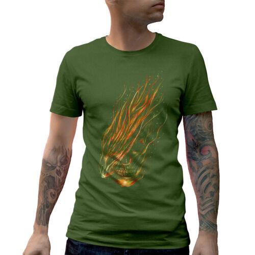 Stoned T-Shirt Drugs Skull Weed Dope Smoke Cannabis Ganja Leaf Pipe Green E085