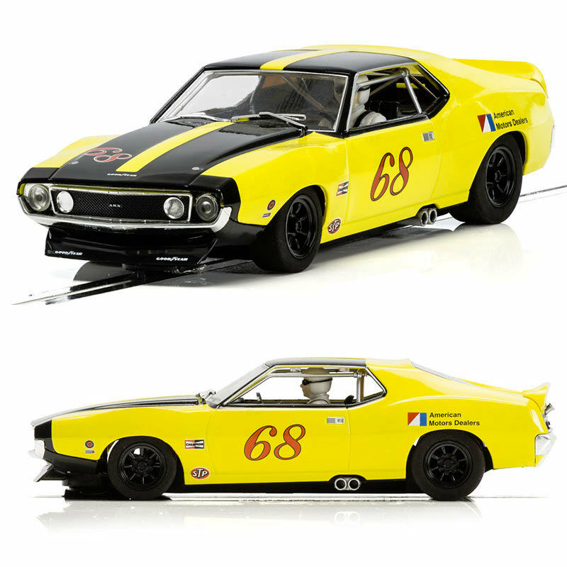 SCALEXTRIC Slot Car C3921 AMX Javelin Trans Am - Roy Woods 1971