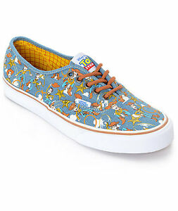 9ceff3711c5c92 VANS x TOY STORY AUTHENTIC WOODY WHITE SHOES BRAND NEW in BOX!!