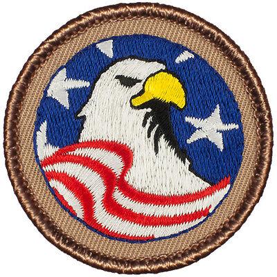 Boy Scout Patches - Patriotic Eagle Patrol! (#236)