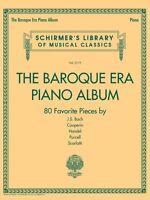 The Baroque Era Piano Album Sheet Music Schirmer's Library Of Musical 050600419