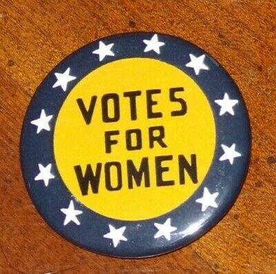 Votes For Women Women S Suffrage 2020 Reproduction Button 1 1 2