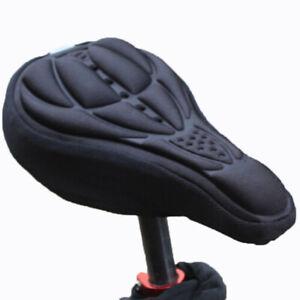 BMX MTB Bike Padded Seat Cover Soft Cushion Saddle Bicycle Cycling Cycle Padding