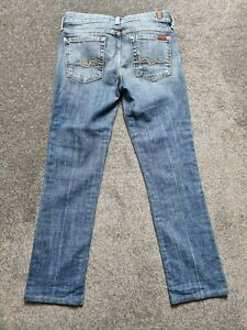 Ladies Seven 7 For All Mankind Jeans - Straight Leg - Size 27