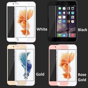 new styles aa875 6b957 Details about 3D Curved Full Cover Tempered Glass Screen Protector iPhone 8  Plus - Rose Gold