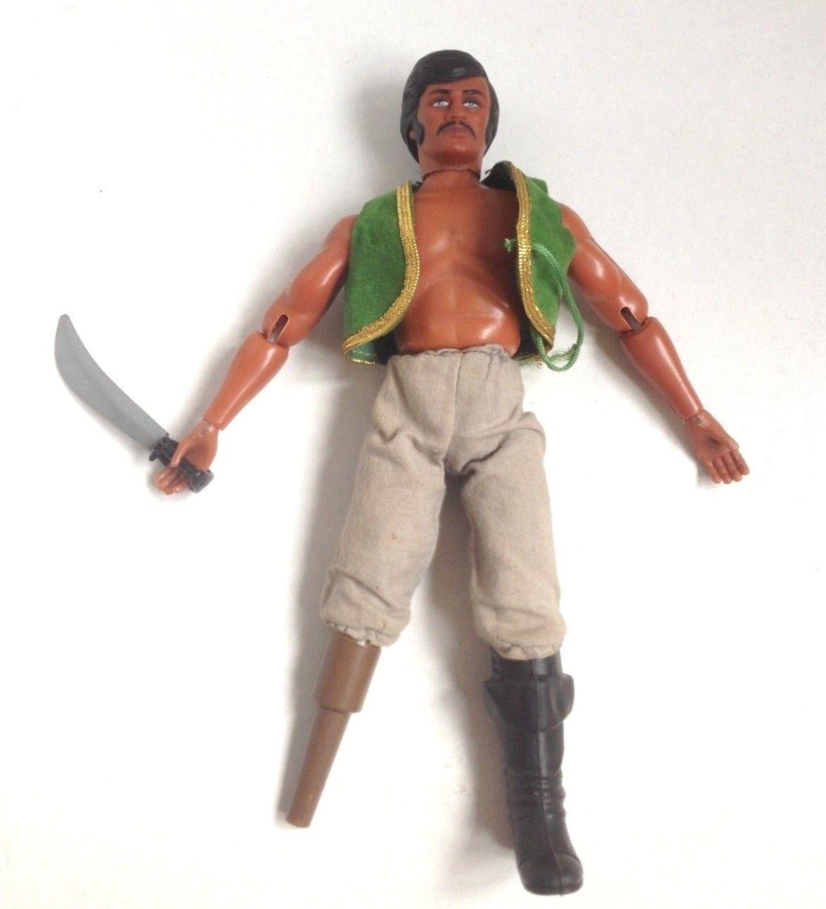 Vintage FIGHTING FURIES CAPTAIN PEG LEG matchbox action figure PIRATE 1973 1970s