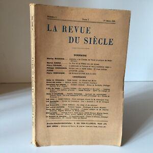 La Revista de La Siglo N º 1 , Tomo I, 1er Mars 1925