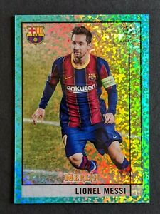Lionel Messi - SP /175 SPECKLE REFRACTOR 🔥💎 2020-21 Topps Merlin Chrome - MINT