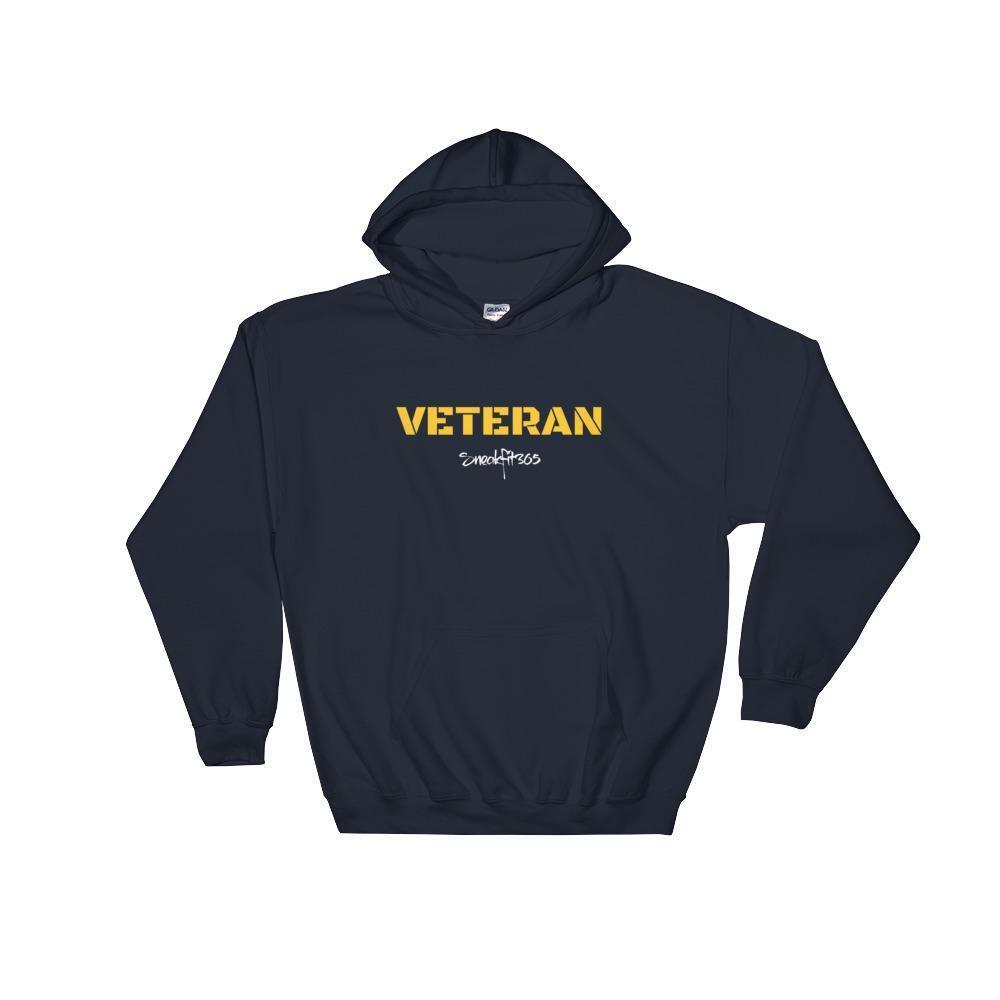 SneakFIt365 Military Vet US Navy Hooded Sweatshirt