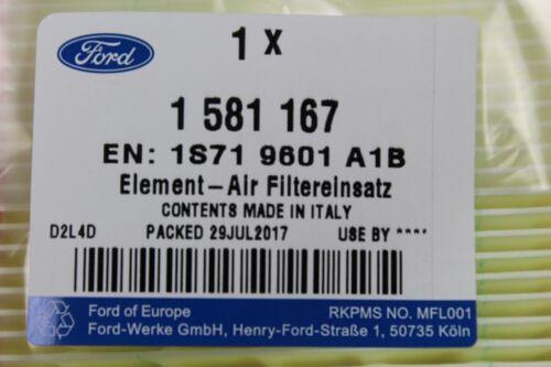 1581167 Original filtro de aire ford Ford Mondeo III Año de fabricación 2000 hasta 2007