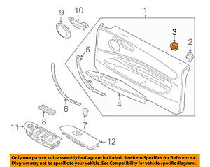 image is loading bmw-oem-08-13-128i-door-lock-knob-