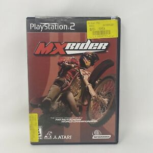 MXRider (MX Rider) (Sony PlayStation 2 PS2, 2001) Complete Tested Working