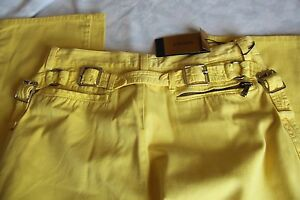 Auth-GIANNI-VERSACE-Runway-Yellow-Pant-size-34-48it