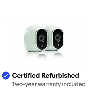 Arlo VMC3030-100NAR Security 2pack WireFree HD Camera - Certified Refurbished