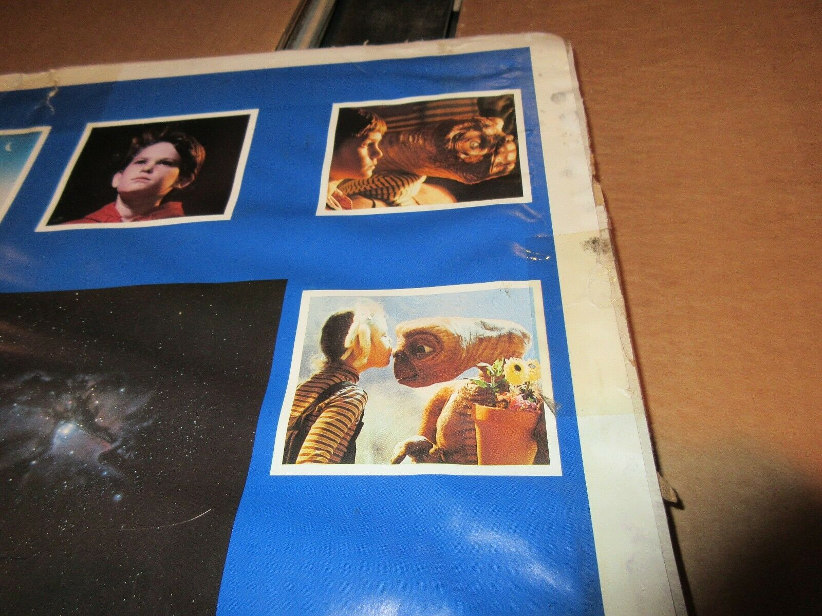 """E.T. Collage Poster , 1982 , 23"""" X 35"""" , Excellent Cond"""