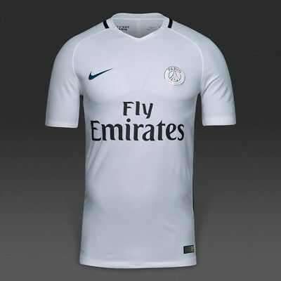 new style a457f 876f7 Nike PSG Paris Saint Germain Jersey Shirt ~ 776916 102 ~ X- Large ~ Brand  New | eBay