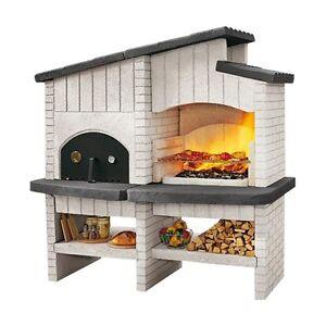 ... -Gartengrill-Backofen-NEW-ZEALAND-Grillofen-Garten-Grill-Barbecue