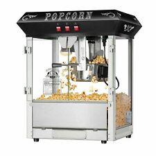 Black 8 Oz Hot Amp Fresh Counter Top Bar Style Popcorn Popper Machine Table Top