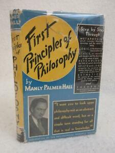 Manly-Palmer-Hall-FIRST-PRINCIPLES-OF-PHILOSOPHY-1949-Second-Enlarged-Edition