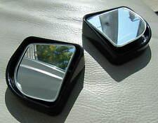 AUTO Grandangolare Punto Cieco Specchio 42x42mm girevole regolabile vista COPPIA NUOVO di zecca