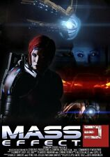 POSTER MASS EFFECT GAME SHEPARD KIRRAE MOREAU PS3 XBOX 360 2 3 N7 N 7 PC PS #6
