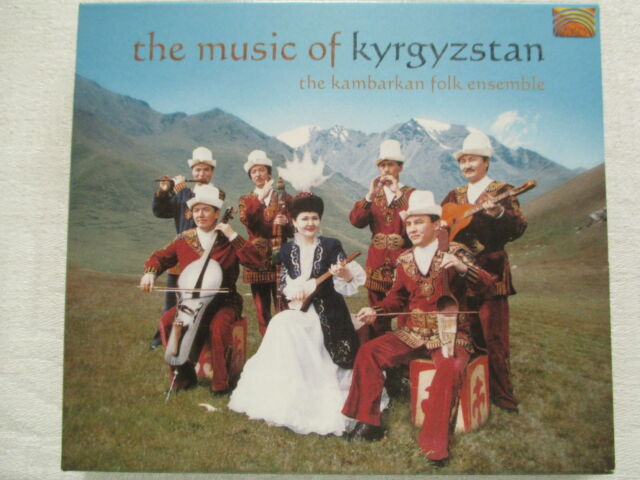 The Music Of Kyrgyzstan von The Kambarkan Folk Ensemble - CD & Booklet