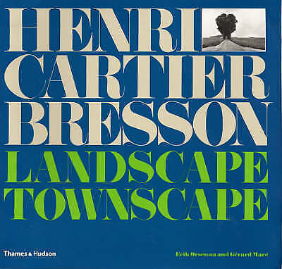 1 of 1 - Henri Cartier-Bresson: City and Landscapes by Erik Orsenna, Gerard Mace (Hardbac