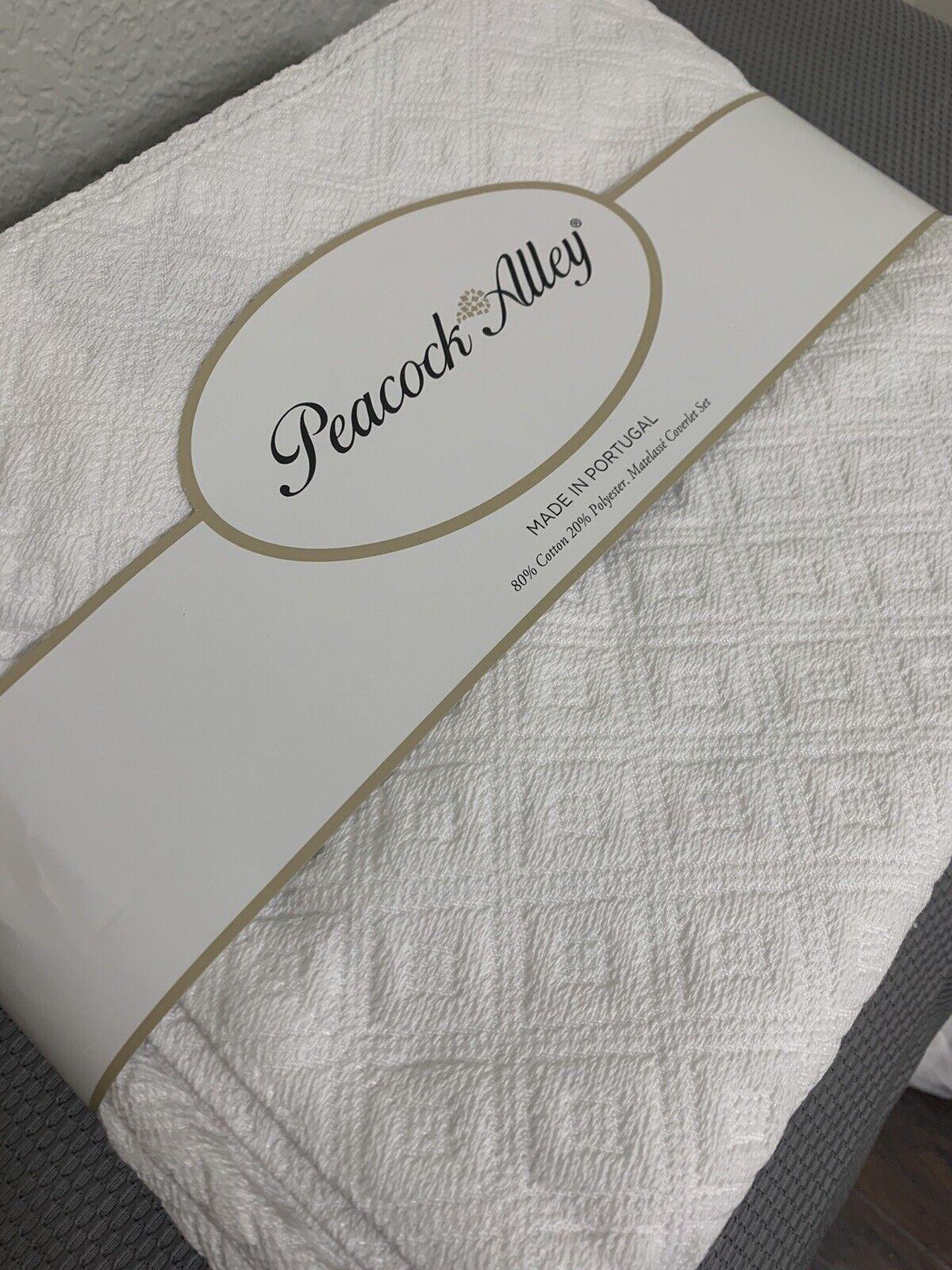 Fieldcrest Diamond Matelasse Coverlet King White Quilt For Sale Online Ebay