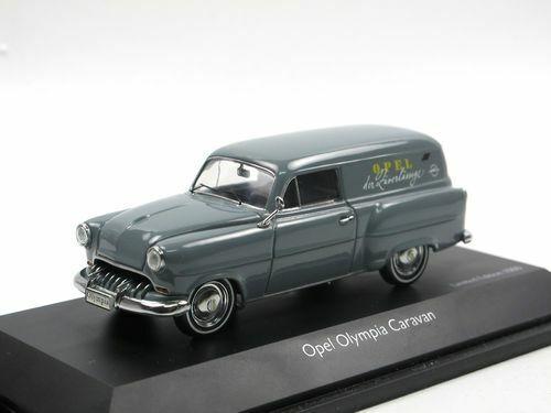 1:43 Schuco Opel Olympia Caravan 02665