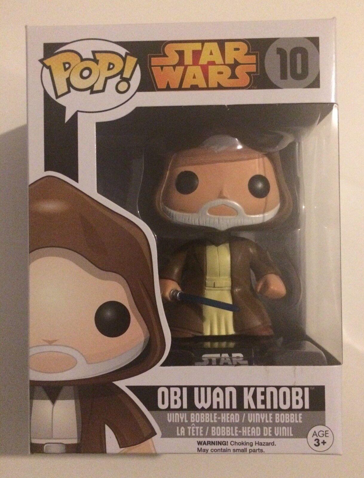 Obi - wan kenobi funko pop - star - wars - selten in bild.