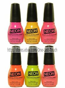 SINFUL-COLORS-Professional-NEON-COLLECTION-Nail-Polish-Enamel-YOU-CHOOSE-New