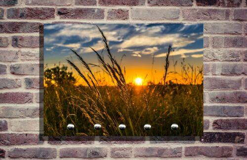 Schlüsselbrett Schlüsselhalter Foto Individuell schlüsselleiste Sonnenuntergang