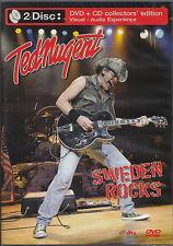 Ted Nugent Sweden Rocks   DVD + CD Set merce nuova   SEALED