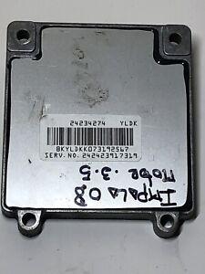 2006-2009 Chevrolet Impala 3.5L A//T TCM Transmission Control Module24234274