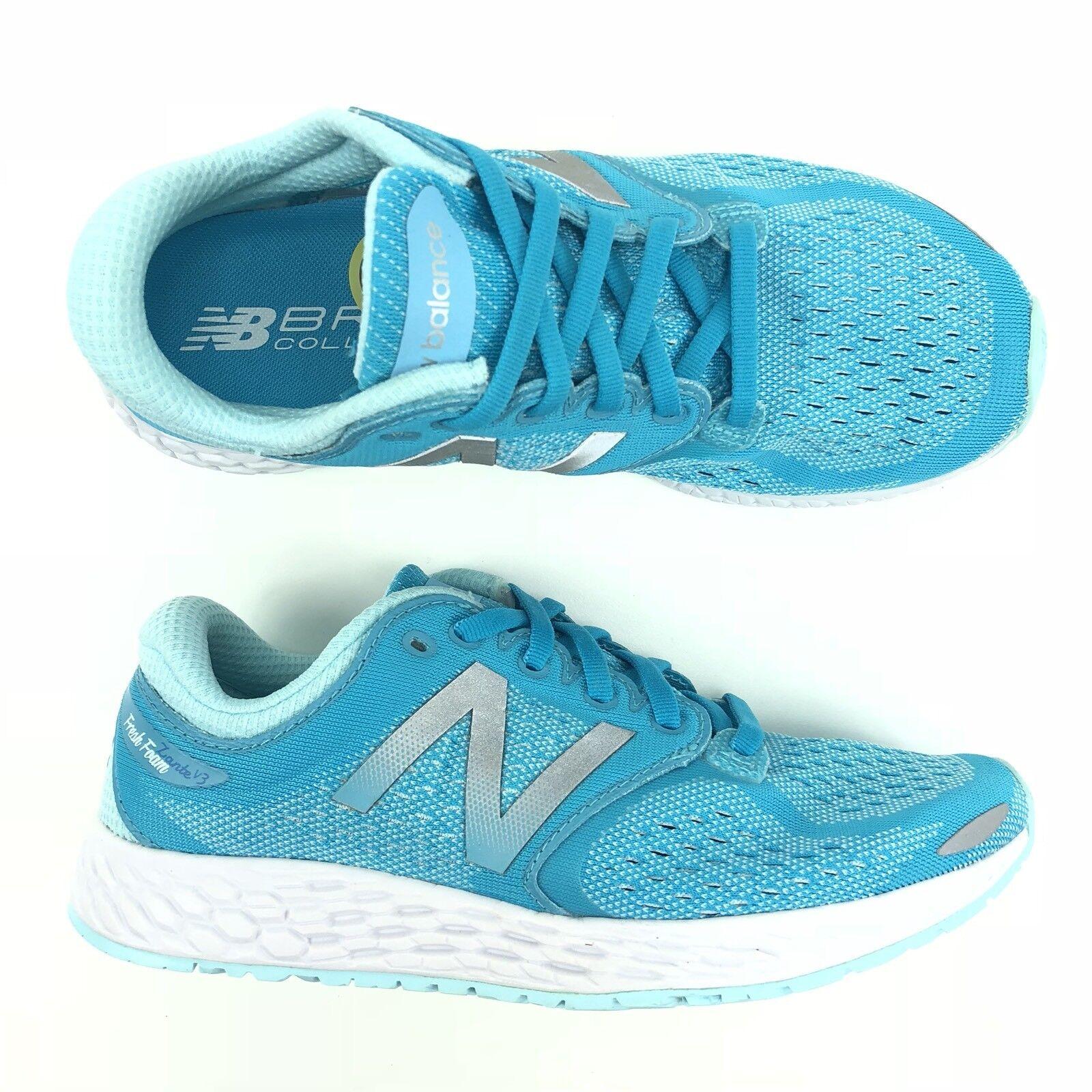 New Balance Fresh Foam Zante V3 V3 Zante Blau Damens Größe 5.5 Running Schuhe 687bf6
